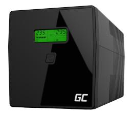 Zasilacz awaryjny (UPS) Green Cell UPS (1000VA/700W, 2x IEC, 2x Schuko, AVR, LCD)