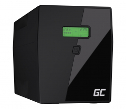 Zasilacz awaryjny (UPS) Green Cell UPS (2000VA/1400W, 3x IEC, 2x Schuko, AVR, LCD)