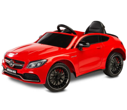 Pojazd na akumulator Toyz Pojazd na akumulator Mercedes AMG C63 S Red