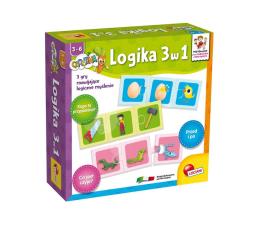 Gra dla małych dzieci Lisciani Giochi Carotina logika 3 w 1