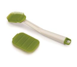 Akcesoria do kuchni Joseph Joseph Szczotka do naczyń +myjka zielona, CleanTech
