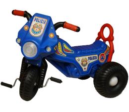 Jeździk/chodzik dla dziecka MARGOS Motorek trójkołowy POLICJA