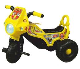 Jeździk/chodzik dla dziecka MARGOS Motorek trójkołowy HARY żółty
