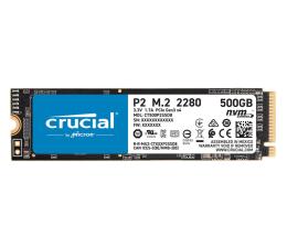 Dysk SSD Crucial 500GB M.2 PCIe NVMe P2