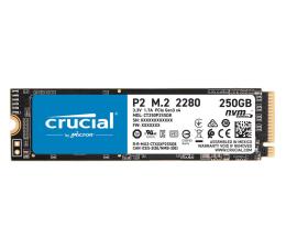 Dysk SSD Crucial 250GB M.2 PCIe NVMe P2