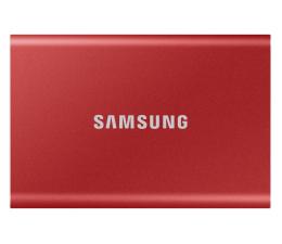Dysk zewnętrzny SSD Samsung Portable SSD T7 1TB USB 3.2 Czerwony
