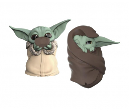 Figurka Hasbro Mandalorian Baby Yoda Sipping Soup&Blanket Wrapped