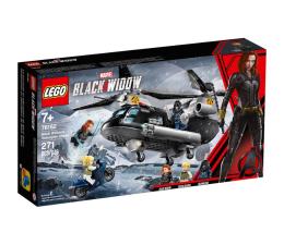Klocki LEGO® LEGO Marvel Super Czarna Wdowa i pościg helikopterem