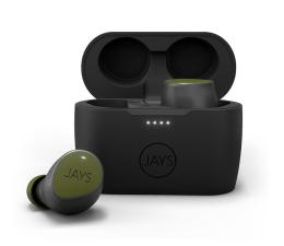 Słuchawki bezprzewodowe Jays m-Seven True Wireless Zielony