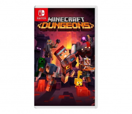 Gra na Switch Switch Minecraft Dungeons