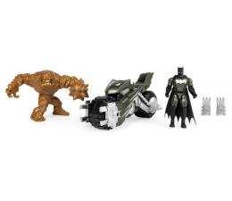 Pojazd / tor i garaż Spin Master Motor Batmana z 2 figurkami