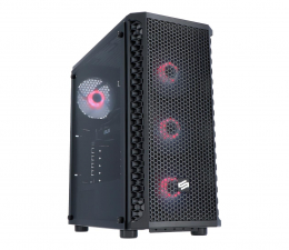 Desktop SHIRU 7200V i3-9100F/16GB/240+1TB/W10X/RX580