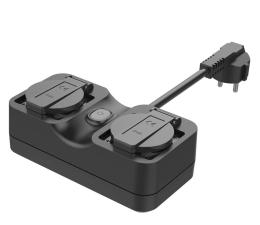 Gniazdo Smart Plug Meross MSS620 gniazdko zewnętrzne IP44 (Wi-Fi)
