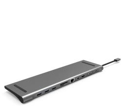 Stacja dokująca do laptopa Silver Monkey USB-C - HDMI, USB, RJ-45, mini DP, SD