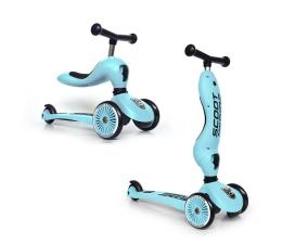 Hulajnoga dla dzieci Scoot & Ride Highwaykick 1 Jeździk i hulajnoga 2w1 Blueberry