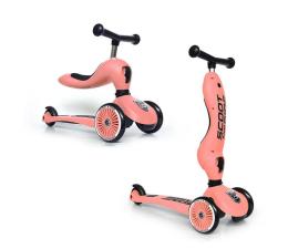 Hulajnoga dla dzieci Scoot & Ride Highwaykick 1 Jeździk i hulajnoga 2w1 Peach