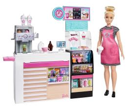 Lalka i akcesoria Barbie Kawiarenka Zestaw + Lalka