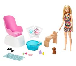 Lalka i akcesoria Barbie Mani-pedi Spa Zestaw do zabawy