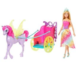 Lalka i akcesoria Barbie Przygody Księżniczek Rydwan i pegaz + Lalka