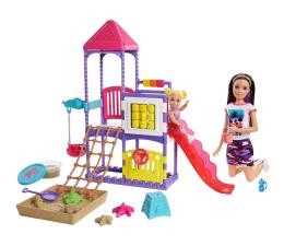 Lalka i akcesoria Barbie Skipper Klub opiekunek Plac zabaw Zestaw