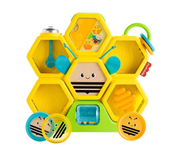 Zabawka dla małych dzieci Fisher-Price Kolorowe zwierzątka Pracowita Pszczółka