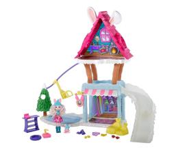 Lalka i akcesoria Mattel Enchantimals Snow Valley Zimowa chatka Zestaw
