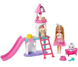 Lalka i akcesoria Barbie Przygody Księżniczek Księżniczka Chelsea zestaw1