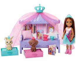 Lalka i akcesoria Barbie Przygody Księżniczek Księżniczka Chelsea zestaw2