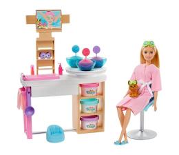 Lalka i akcesoria Barbie Salon Spa Maseczka na twarz Zestaw
