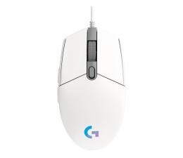 Myszka przewodowa Logitech G102 LIGHTSYNC biała