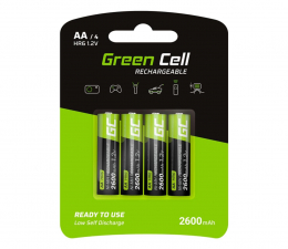 Akumulator uniwersalny Green Cell 4x AA HR6 2600mAh