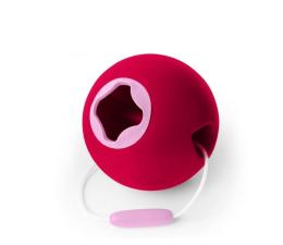 Zabawka do piaskownicy Quut Wiaderko wielofunkcyjne Ballo Cherry Red
