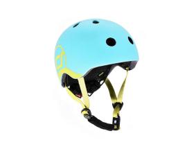 Kask i ochraniacz Scoot & Ride Kask Ochronny XXS-S dla dzieci 1-5lat Blueberry