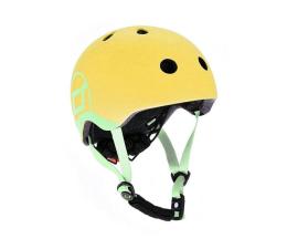 Kask i ochraniacz Scoot & Ride Kask Ochronny XXS-S dla dzieci 1-5lat Lemon