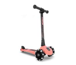 Hulajnoga dla dzieci Scoot & Ride Highwaykick 3 LED Hulajnoga Balansowa 3+ Peach