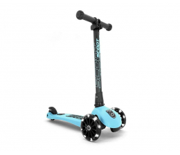 Hulajnoga dla dzieci Scoot & Ride Highwaykick 3 LED Hulajnoga Balansowa 3+ Blueberry
