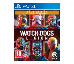 Gra na PlayStation 4 PlayStation Watch Dogs Legion Gold