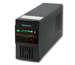 Zasilacz awaryjny (UPS) Qoltec Monolith (600VA/300W, 2xFR, USB, LCD, AVR)