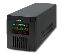 Zasilacz awaryjny (UPS) Qoltec Monolith (1500VA/900W, 2xFR, USB, AVR, LCD)