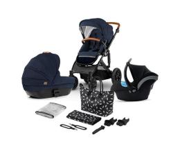 Wózek dziecięcy wielofunkcyjny Kinderkraft Prime 3w1 Deep Navy z torba Mommy Bag