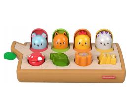 Zabawka dla małych dzieci Fisher-Price Wyskakujace kolorowe zwierzatka