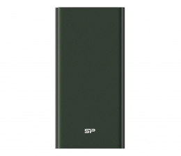 Powerbank Silicon Power QP60 10000mAh, zielony
