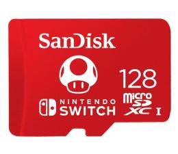 Karta pamięci microSD SanDisk 128GB microSDXC 100MB/s A1 V30 Nintendo Switch