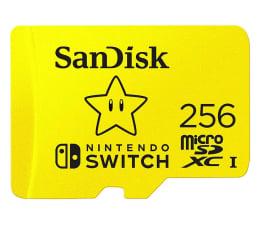 Karta pamięci microSD SanDisk 256GB microSDXC 100MB/s A1 V30 Nintendo Switch