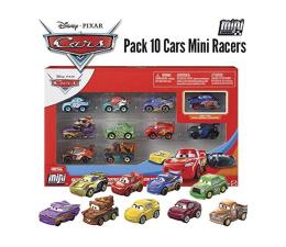 Pojazd / tor i garaż Mattel Cars mikroauta 10pak