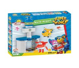Klocki dla dzieci Cobi Zestaw Lotnisko Jett + Donnie Super Wings