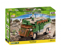 Klocki Cobi Rommel's Mammoth - wóz dowodzenia
