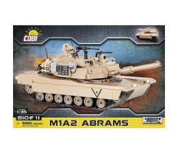 Klocki Cobi M1A2 Abrams - amerykański czołg podstawowy