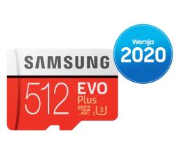 Karta pamięci microSD Samsung 512GB microSDXC Evo Plus zapis90MB/s odczyt100MB/s