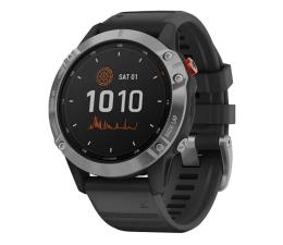 Zegarek sportowy Garmin Fenix 6 Solar srebrno - czarny